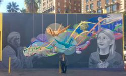 Pershing Square Mural #2 (w_Mom)
