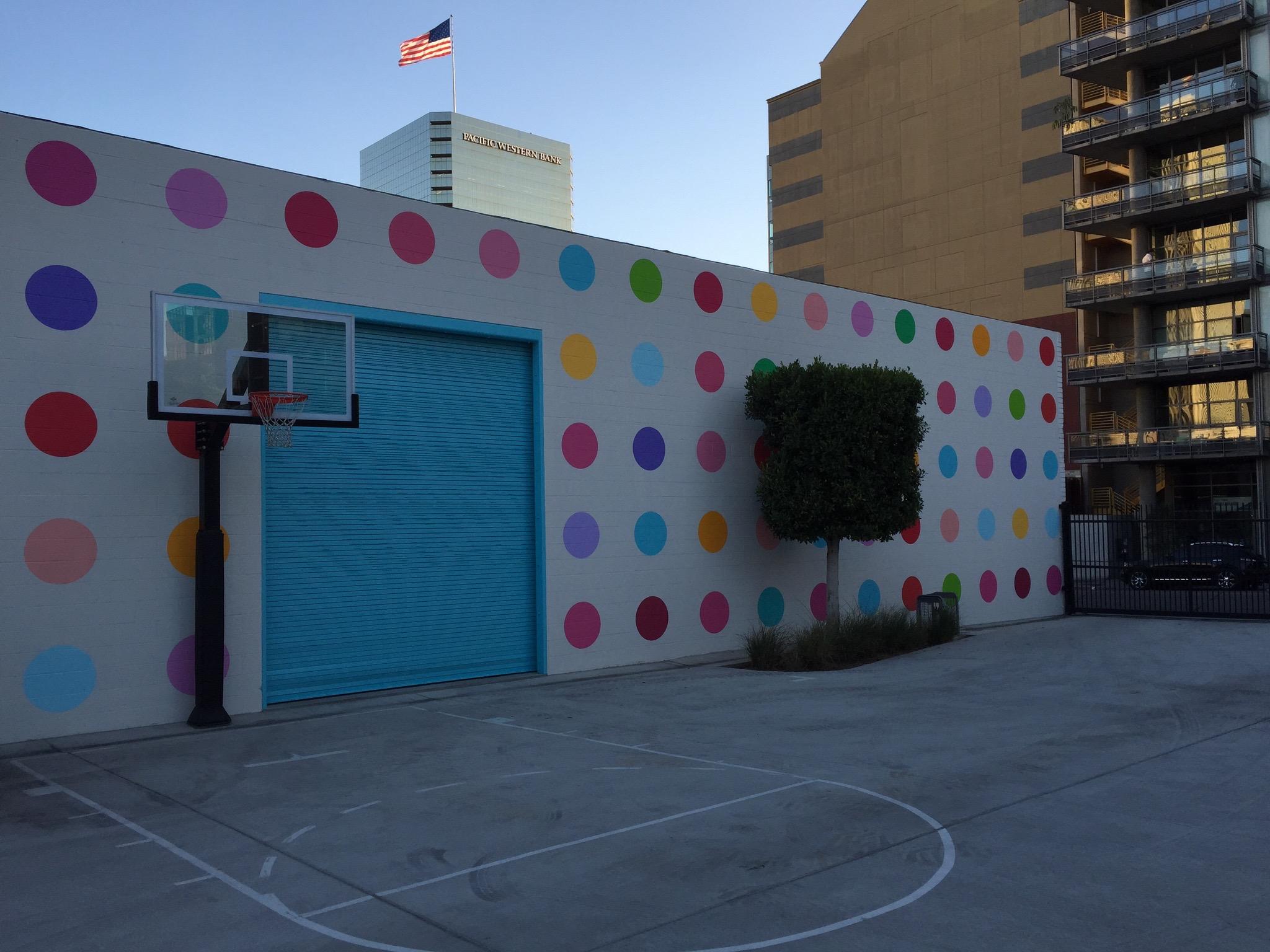 Mural - 111 Dots (Hughes Marino, San Die