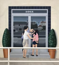 Mural - Dr. Kim's Entrance Mural (new)
