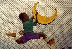 Roosevelt Fence Art #3