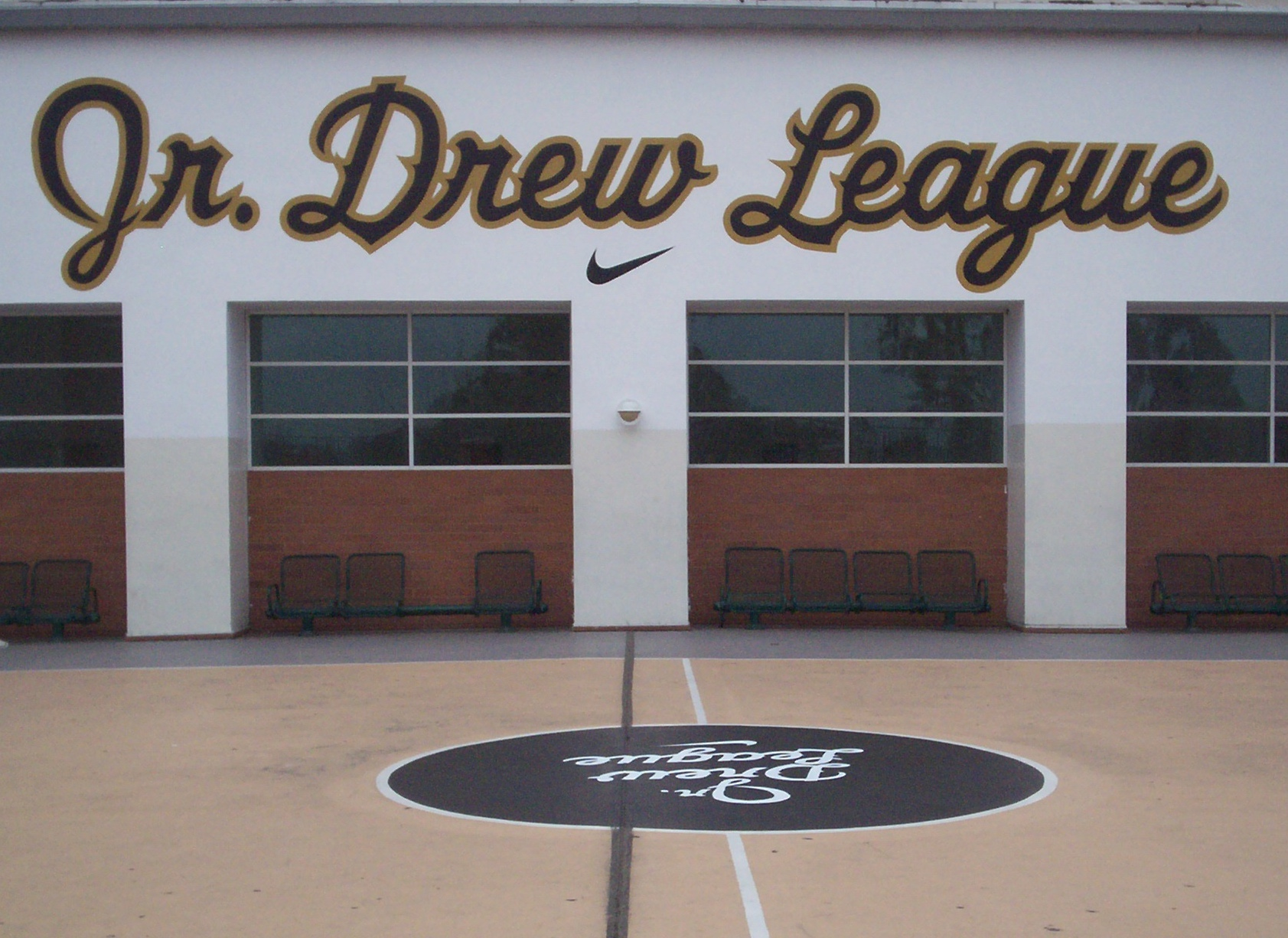 Mural - Jr. Drew League (2015) #1
