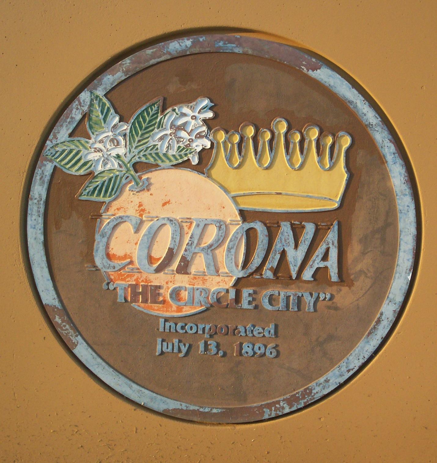 City of Corona Seal (before)