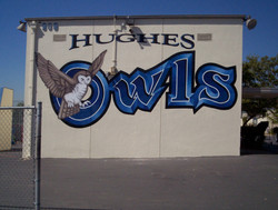 Mural - Hughes Middle School #1