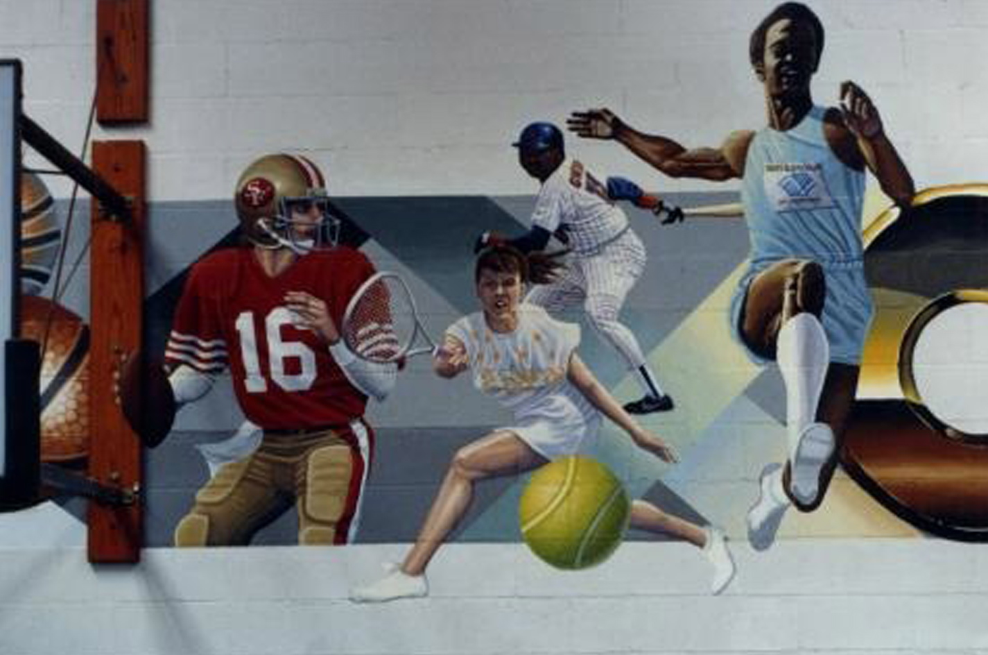OBGC (gymnasium mural)