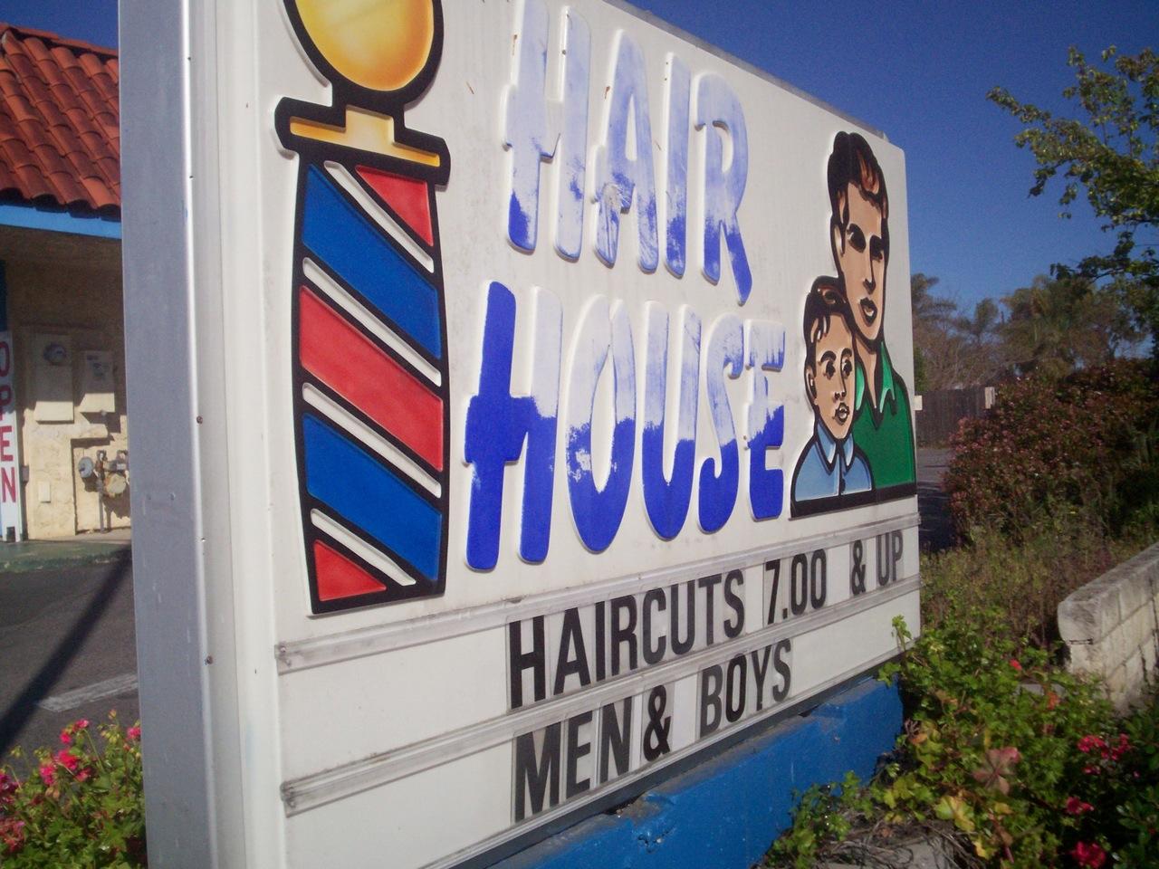 Hair House (before)