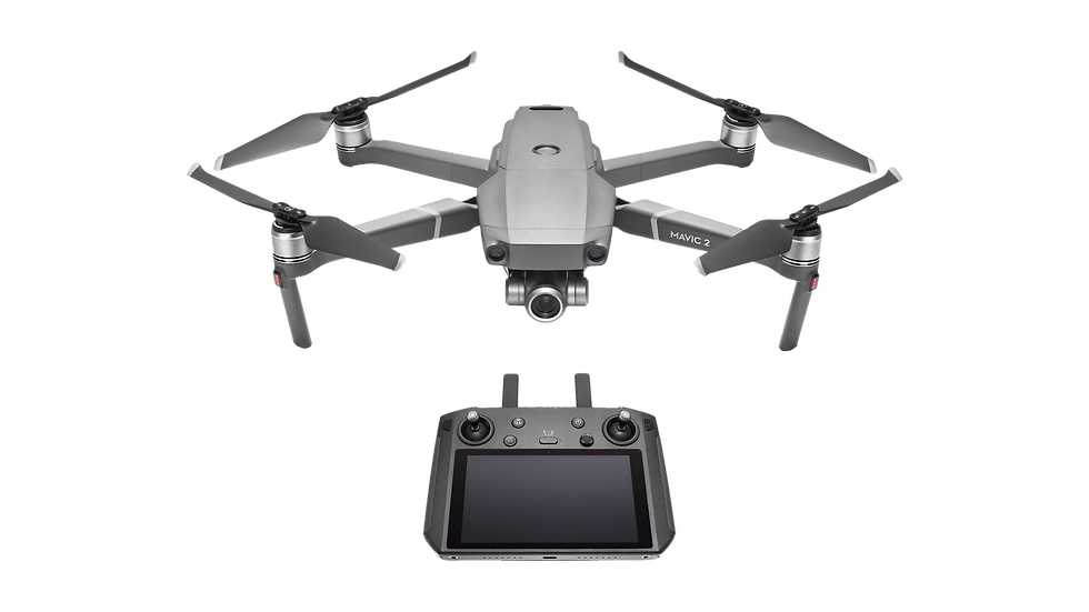 DJI - Mavic 2 Zoom with Smart Controller