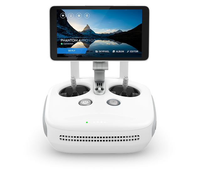 DJI - Phantom 4 Pro+ Remote Controller (Includes Display)