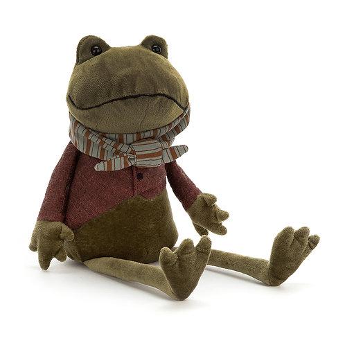 Riverside Rambler Frog Soft Toy