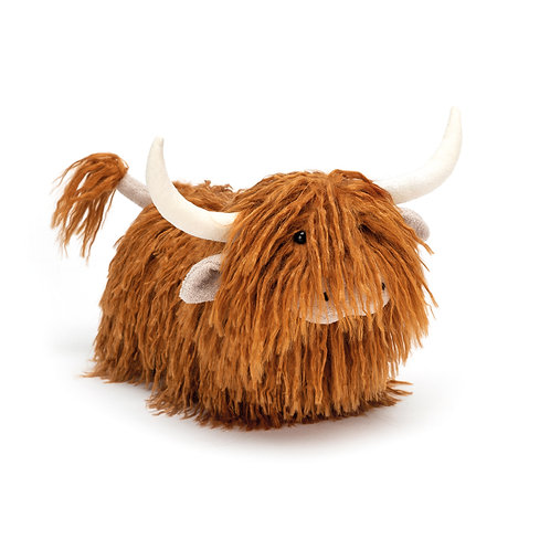 Charming Highland Cow Soft Toy
