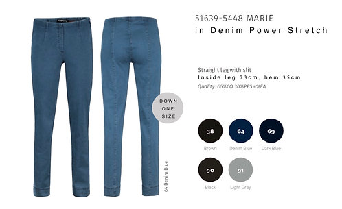 Marie Denim Jean - Short Fitting (51639 5448)