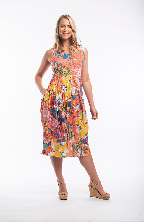 Pamplona Sleeveless Dress (51654)