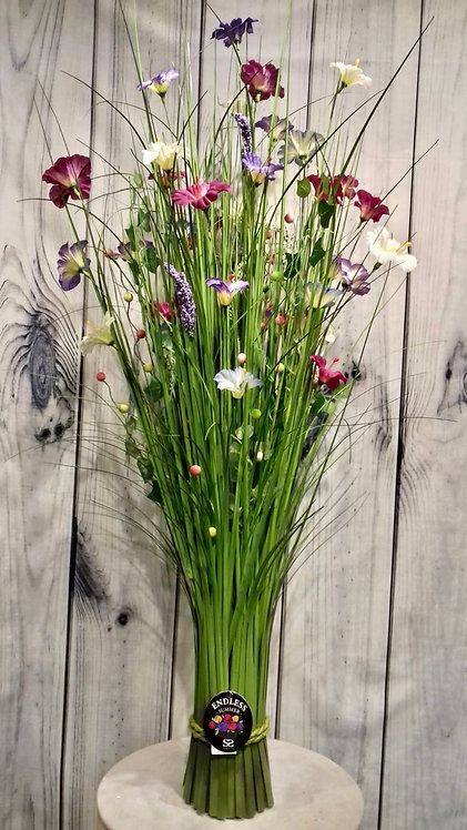 Mixed Artificial Flowers & Grasses