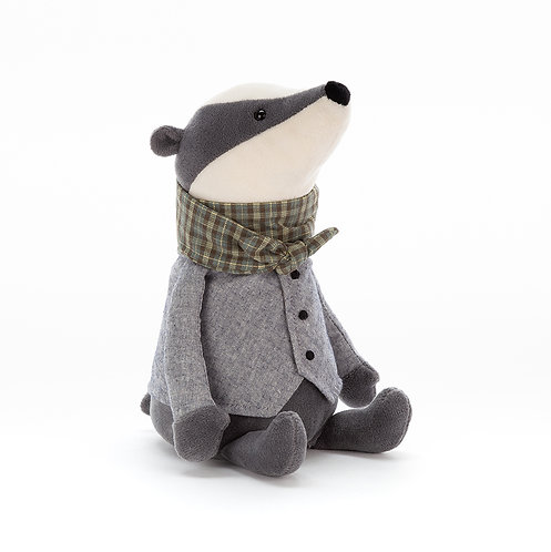 Riverside Rambler Badger Soft Toy