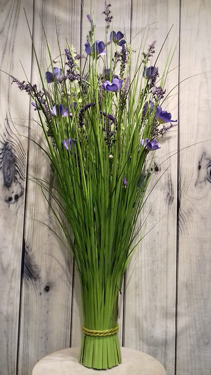 Lavender Artificial Flowers & Grasses