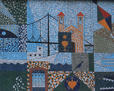 Mosaico no Ed. Paulier