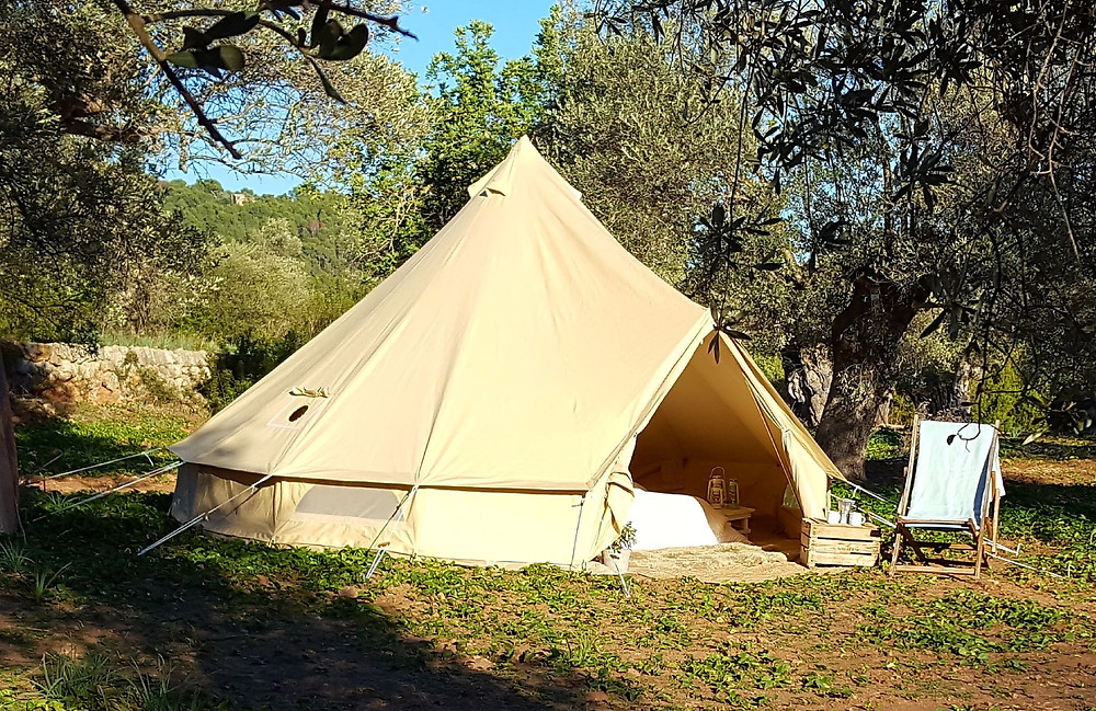 How to care for your bell tent