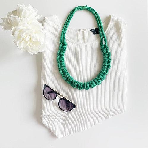 The Knotty Cotton Necklace
