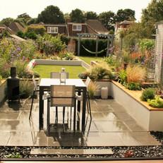 Soft Modern Garden in Brighton