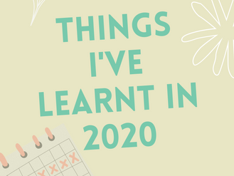 Lessons From 2020