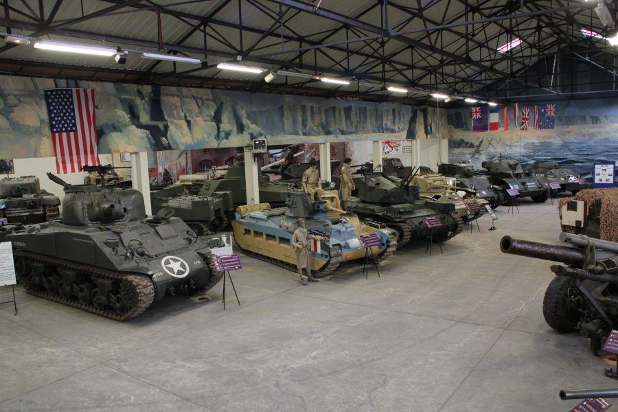 Le Musée de Blindés de Saumur