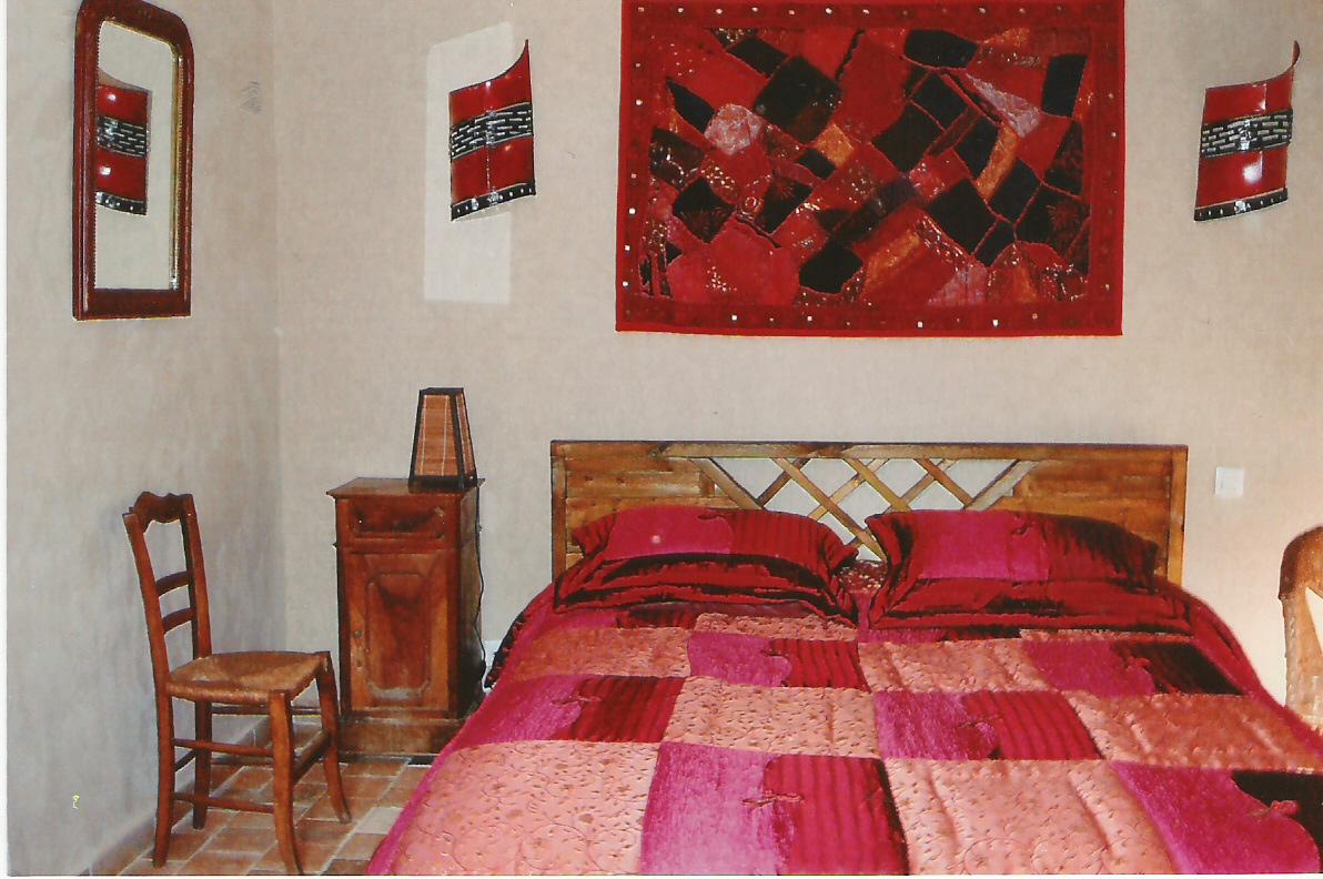 Suite chambre rouge