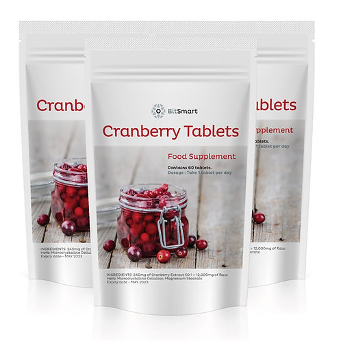 Cranberry (60 Tablets)
