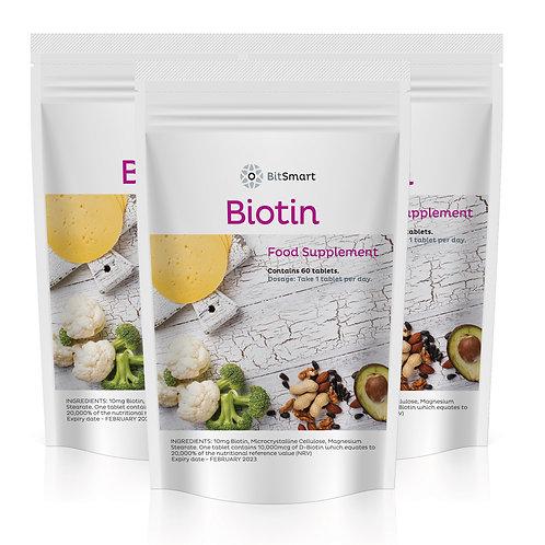 Biotin (60 Tablets)
