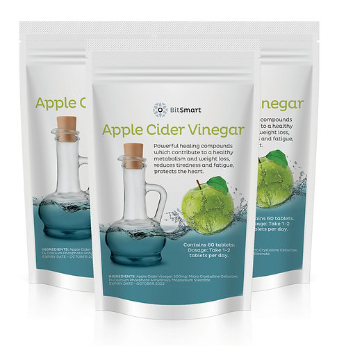 Apple Cider Vinegar (60 Tablets)