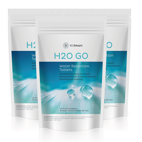 H20 GO - Water Retention (60 Tablets)