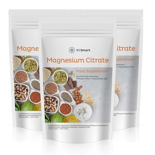 Magnesium Citrate (30 Capsules)