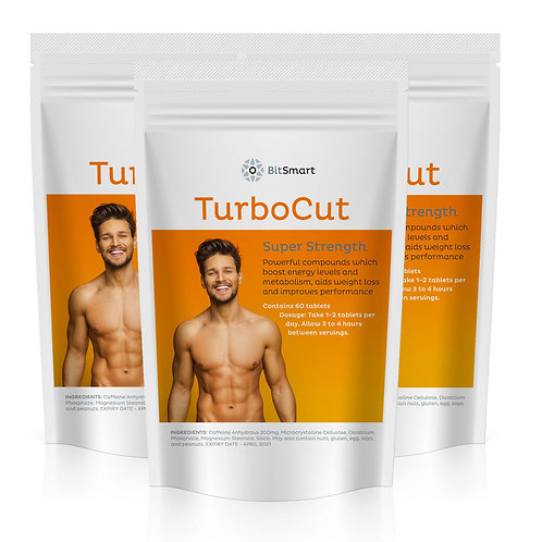 Turbo Cut - Weight Loss & Energy (60 Tablets)