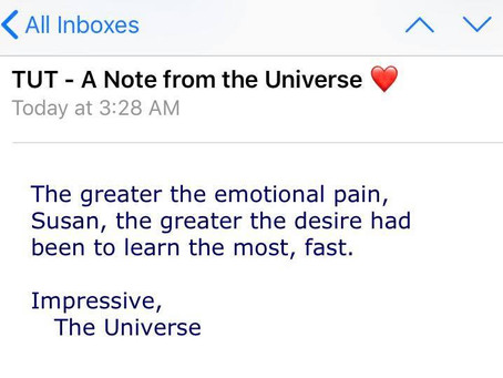 A Note from the Universe