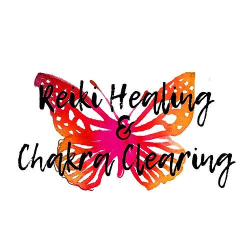 Reiki Healing & Chakra Clearing