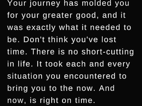 Right Now is Right on Time