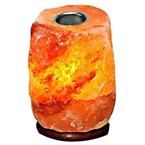 Pink Himalayan salt oil warmer lamp