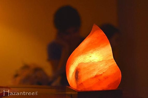Pink Moroccan flame Himalayan lamp