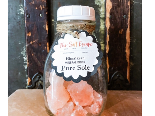 Sole Mineral Salt Drink