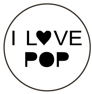 logo i love pop