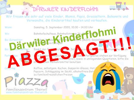 Kinderflohmi: A B G E S A G T ! 😭