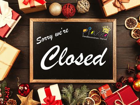 Das FAZ bleibt ab dem 11. Dezember geschlossen