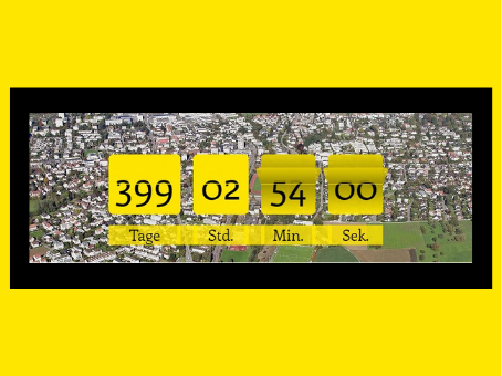 Noch 399 Tage...