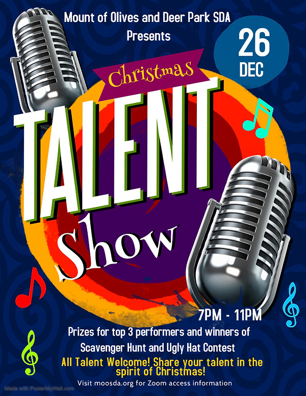 Copy of Talent Night Flyer - Made with P