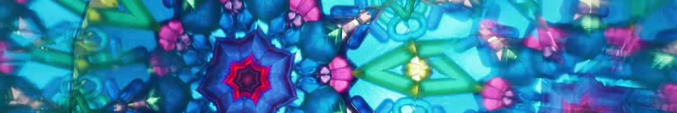 Photo of colorful vivid abstract kaleido