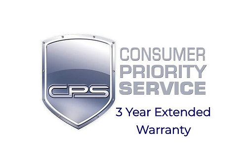 3 Year TV Extended Warranty - TV Cost Under $2500