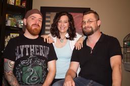 Wray, Jason and Ian