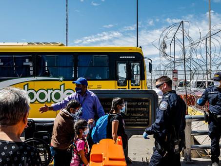 En la frontera de México y Estados Unidos: angustia y más migrantes