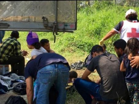 Rescatan a 149 migrantes y detienen a 2 polleros en Veracruz