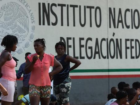 México, albergue de migrantes transcontinentales