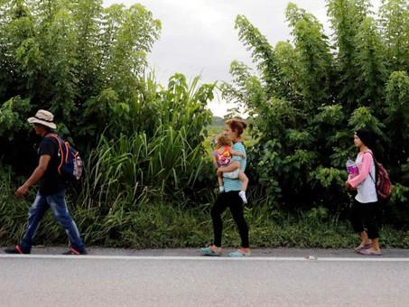Guatemala autoriza uso de la fuerza ante posible nueva caravana migrante