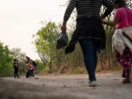 Migración en la frontera sur alcanzó en marzo el nivel más alto en 15 años
